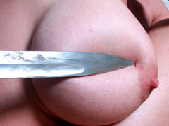 Sharp knife for tits